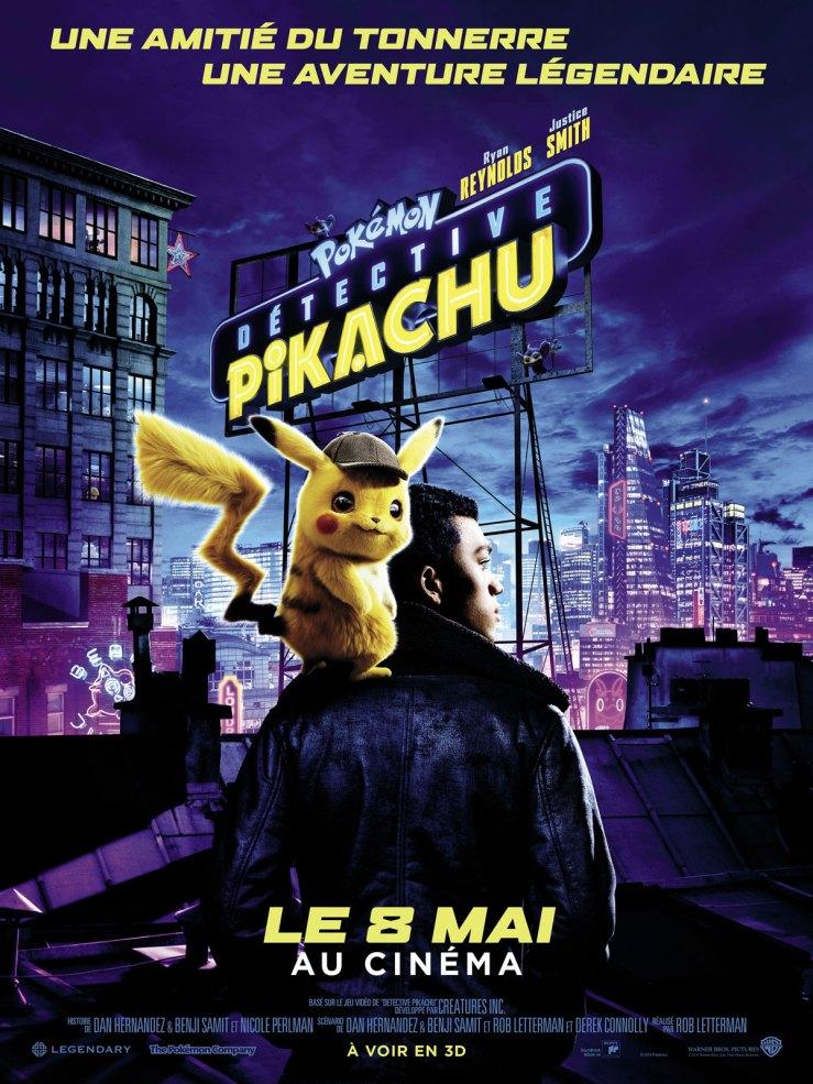 Détective Pikachu le film - affiche
