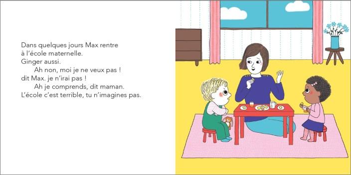 Max et Lapin T10 L'école Ah ! Non merci ! de Astrid Desbordes et Pauline Martin-1