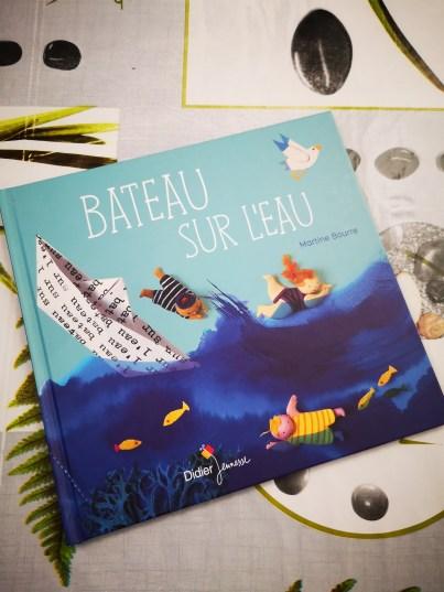 Bateau sur l'eau de Martine Bourre-1