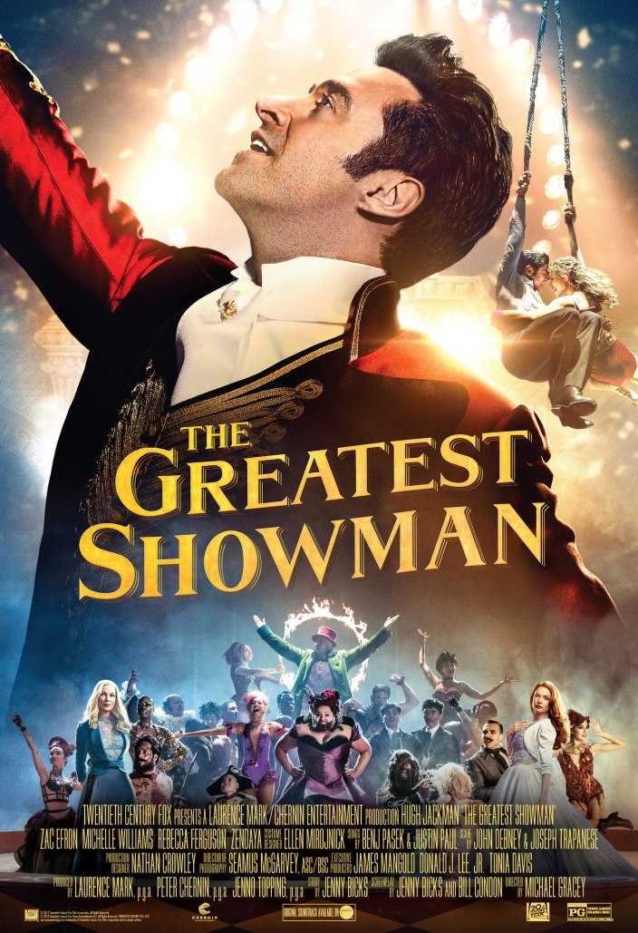 The greatest showman affiche