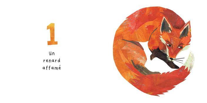 Un renard - Un livre à compter haletant de Kate Read-1