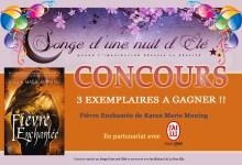 Photo of #CONCOURS – Fièvre Enchantée de Karen Marie Moning est à gagner !