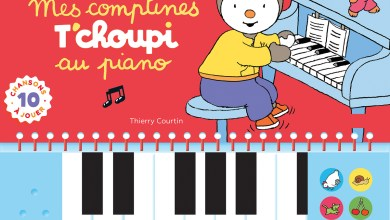 Photo de Mes comptines T'choupi au piano de Thierry Courtin