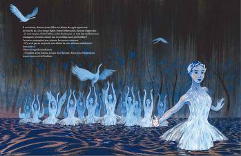 Le Lac des Cygnes de Pascale Maret et Alexandra Huard 3