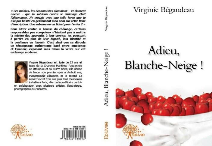 Adieu Blanche-Neige ! de Virginie Begaudean FRF2020