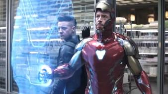 Avenger 4 EndGame img 7 Barton et Iron Man