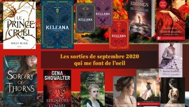 Photo de Les sorties de septembre 2020 qui me font de l'œil