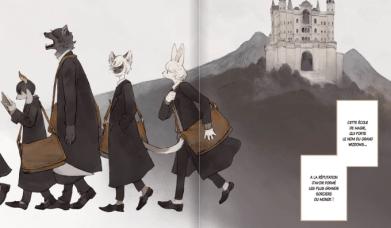 The wize wize beasts of the wizarding wisdoms de Nagabe Extrait 1 Copyright Komikku 2020