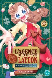 L'agence de détectives Layton T02 Katrielle et les enquêtes mystérieuses