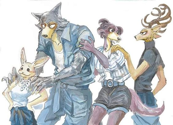 Beastars de Paru Itagaki - Illustration-2