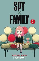 Spy x Family T02 de Tatsuya Endo