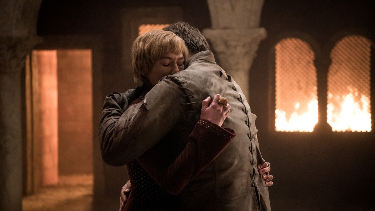Games of Thrones Saison 8 - Episode 5 - Jaime et Cersei