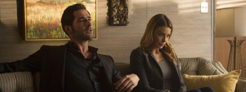 Lucifer saison 2 - Lulu et Chloé