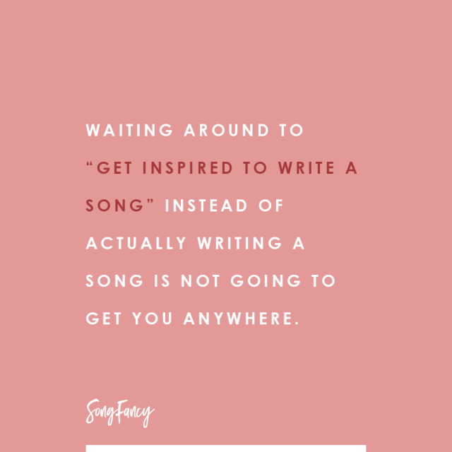 What No One Tells You About Inspiration • SongFancy