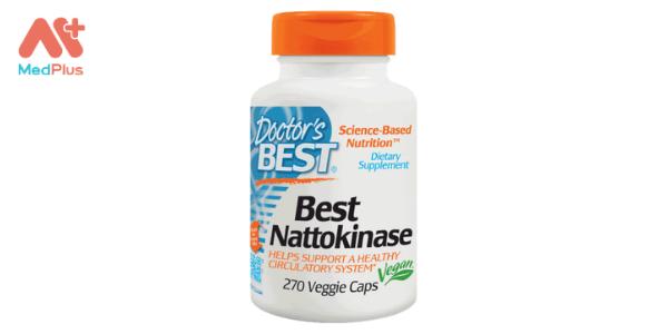 Doctor's Best Best Nattokinase chống đột quỵ Mỹ