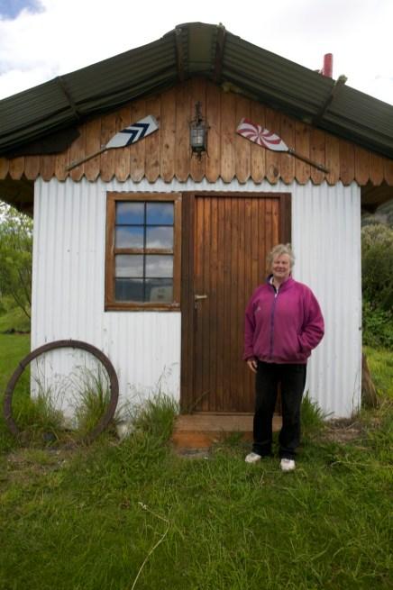 PUERTO ALMANZA / Inge, une Danoise piscicultrice en terre patagone