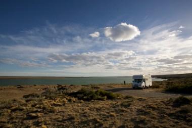 ARGENTINE / Bivouac face à l'estuaire de San Julian