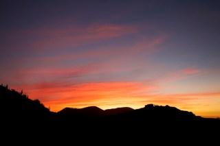 VICUNA / Bivouac au pied de l'observatoire del Pangue