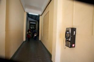 VALPARAISO / Rues - le couloir vers l'ascenseur