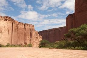 PN Talampaya / Entrée du grand canyon