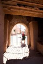 Susques / Chapelle - porte d'entrée du cimetière qui entoure la chapelle