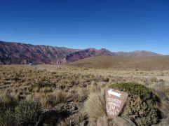 HUMAHUACA /Bivouac sur le cerro Hornocal