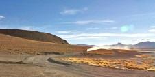 SUD LIPEZ / Piste vers les geysers Sol de Manana