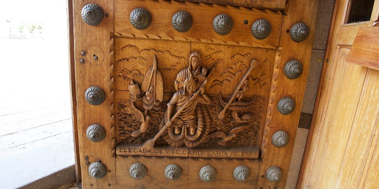 COPACABANA / Détail du portail d'entrée de la cathédrale