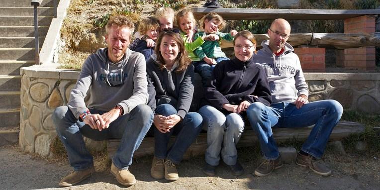 LA PAZ / La famille Voelzner avec qui nous sommes parti une semaine dans la jungle bolivienne