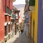 LA PAZ / La calle Jaen, certainement la plus jolie rue coloniale de La Paz.