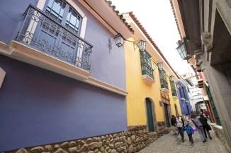 LA PAZ / La calle Jaen