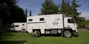 CUSCO / Un camion pour deux retraités allemands