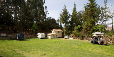 CUSCO / le camping Quintalala