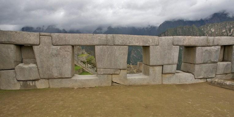 MACHU PICCHU / Temple des trois fenêtres (sans blagues !)