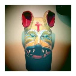 CUENCA / Masque du musée de la ville