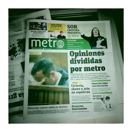 CUENCA / Métro existe aussi ici