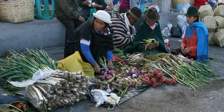 SAQUISILI / Marché alimentaire