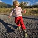 VOLCAN BARU / Nils super fier de ses nouvelles chaussures