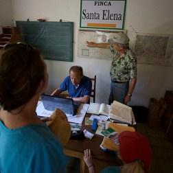 FINCA SANTA ELENA / Visite de la finca