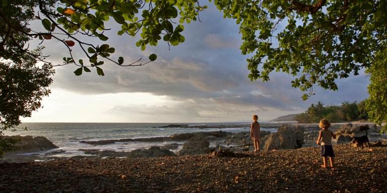 MAL PAIS / Coucher de soleil depuis la pointe sud de la péninsule de Nicoya