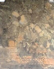 TULUM / Une fresque du temple des fresques