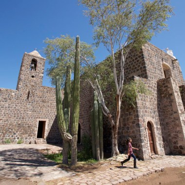 BAJA CALIFORNIA / Mission de Mulegge