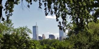 NYC / Vue depuis Central park