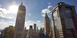 NYC / Vue depuis le sommet du building de Kilian et Jennifer