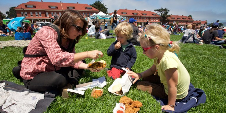 "SAN FRANCISCO / Picnic ""Off the grid"""