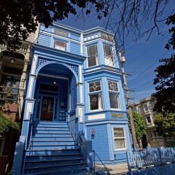 SAN FRANCISCO / Et non, ce n'est pas LA maison bleue.