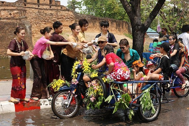 Celebrate Songkran 2019 and Where will you get wet?