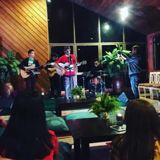 21 May 2016: Songs & Stories Night at Liwagu Restaurant after the production of #TheKinabaluCall