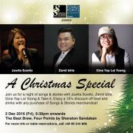 2 December 2016: Songs & Stories Christmas Special at Best Brew, Sandakan