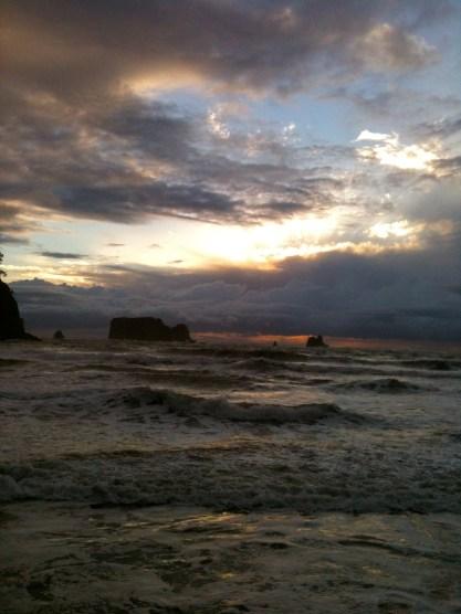 Second Beach, November 19, 2012, 4 miles